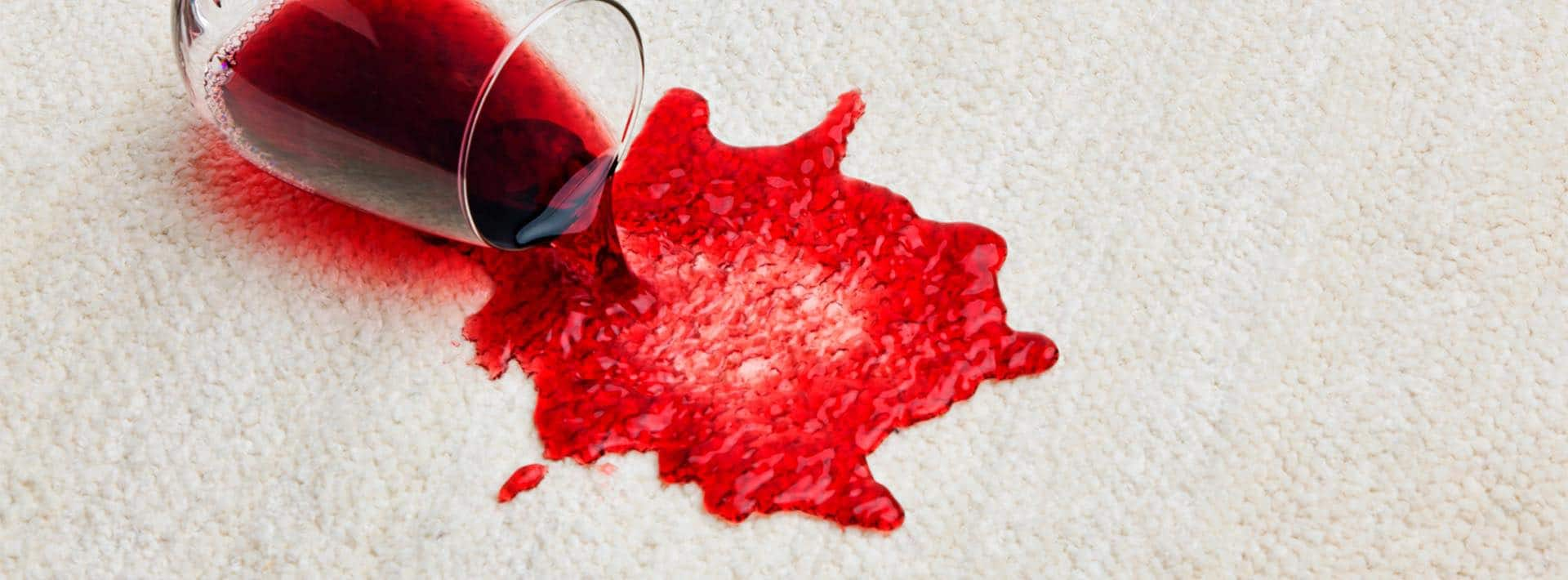 Elimina manchas de alfombras