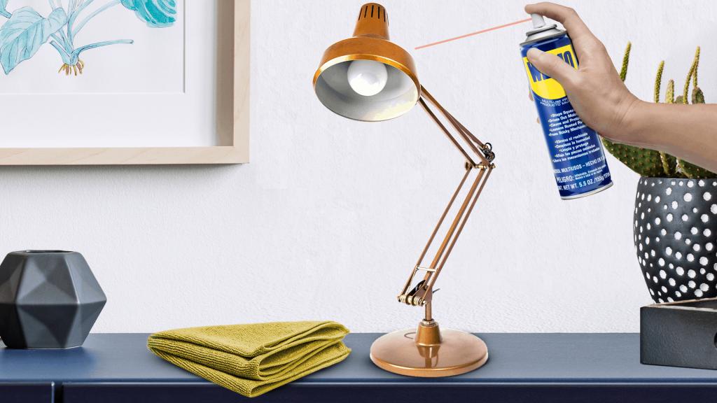 Cómo limpiar y pulir lámparas de metal
